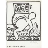 KEITH HARING - Naples Suite #05 - Lithograph