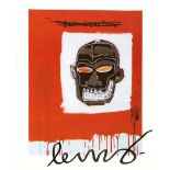 JEAN-MICHEL BASQUIAT - Ben Webster - Color offset lithograph