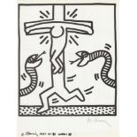 KEITH HARING - Naples Suite #04 - Lithograph