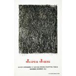 JASPER JOHNS - Coathanger - Color offset lithograph