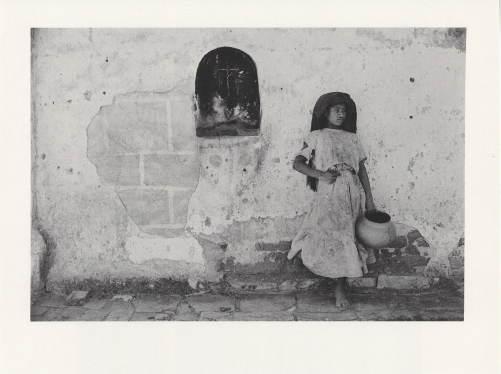 MANUEL ALVAREZ BRAVO - Recuerdo de Atzompan - Original photogravure
