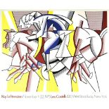 ROY LICHTENSTEIN - The Red Horseman - Color offset lithograph