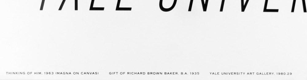 ROY LICHTENSTEIN - Thinking of Him - Original color silkscreen - Image 2 of 3