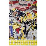 ROY LICHTENSTEIN - Landscape with Red Sky - Color offset lithograph
