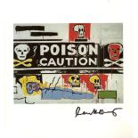 JEAN-MICHEL BASQUIAT & ANDY WARHOL - Collaboration No.62 - Color offset lithograph