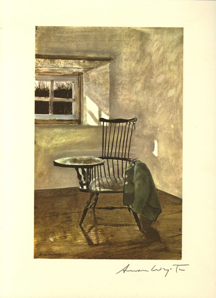 ANDREW WYETH - Early October - Color offset lithograph
