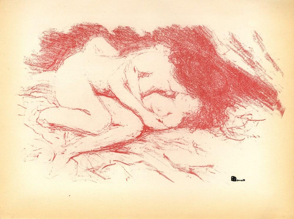 PIERRE BONNARD - Parallelement: Ete - Original color lithograph