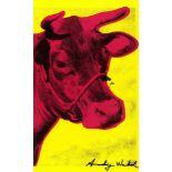 ANDY WARHOL - Cow Wallpaper - Original color silkscreen