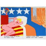 TOM WESSELMANN - American Nude - Color lithograph