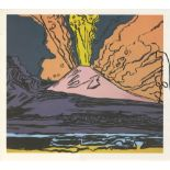 ANDY WARHOL - Vesuvius #11 - Color offset lithograph