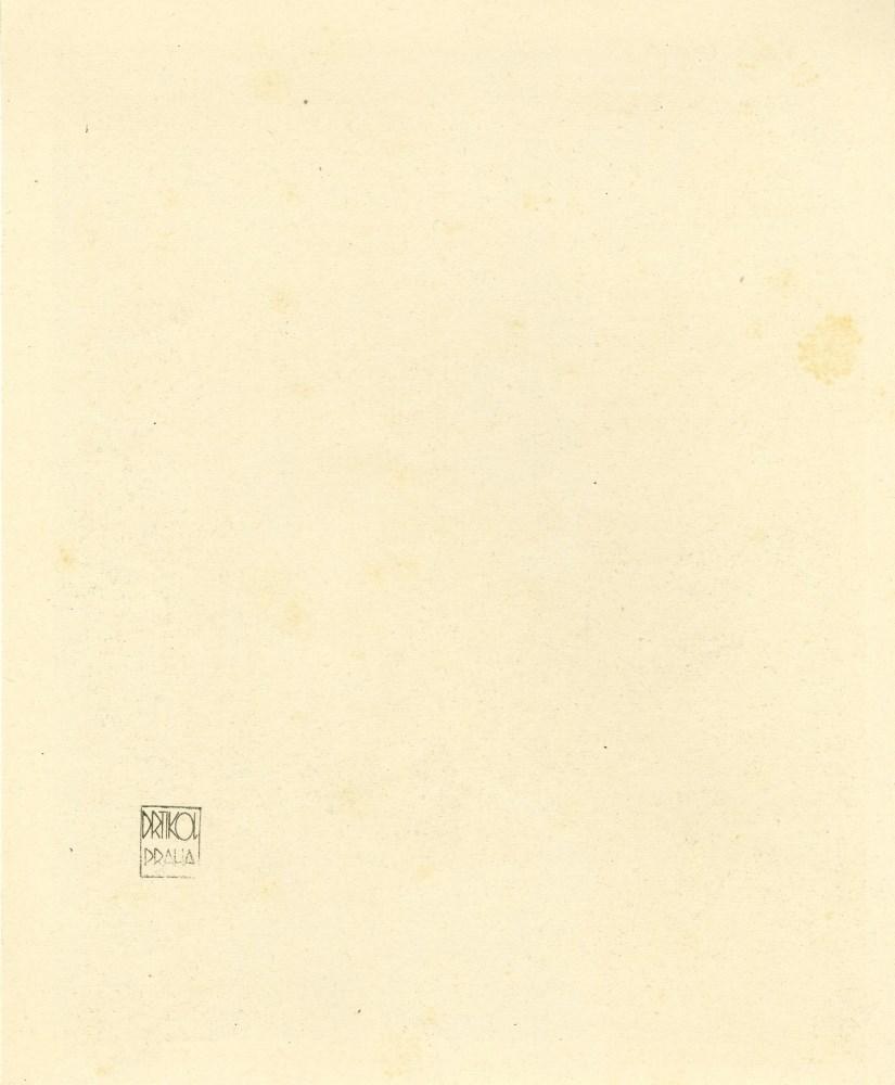 FRANTISEK DRTIKOL - La mort - Original vintage photogravure - Image 2 of 2