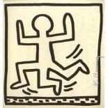 KEITH HARING - Three Legged Man - Lithograph