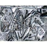 KARIMA MUYAES - Tecno Chaman - Oil pastel and graphite on paper