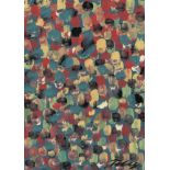 MARK TOBEY - Raindrop Prism #4 - Oil and tempera on board
