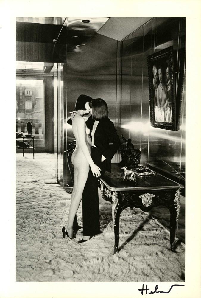 HELMUT NEWTON - Mannequins - Original vintage photolithograph