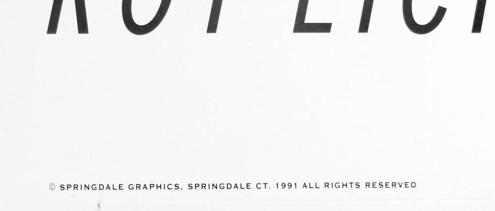 ROY LICHTENSTEIN - Thinking of Him - Original color silkscreen - Image 3 of 3