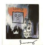 JEAN-MICHEL BASQUIAT - Loans - Color offset lithograph