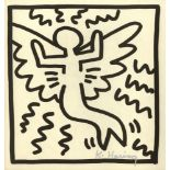 KEITH HARING - Butterfly - Lithograph