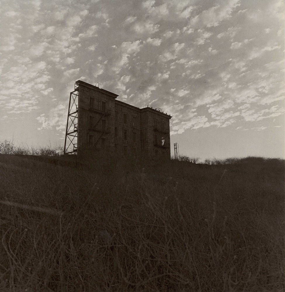 DIANE ARBUS - A House on a Hill, Hollywood, CA - Original vintage photogravure
