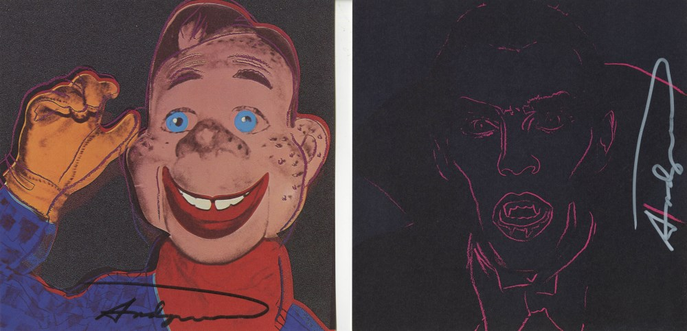 ANDY WARHOL - Myths Suite - Color offset lithographs - Image 3 of 10