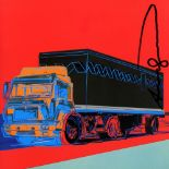ANDY WARHOL - Truck #3 - Color offset lithograph