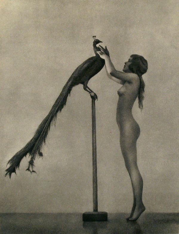 WILLIAM MORTENSEN - Mutual Admiration (Vanities of a Nude Girl) - Original vintage photogravure