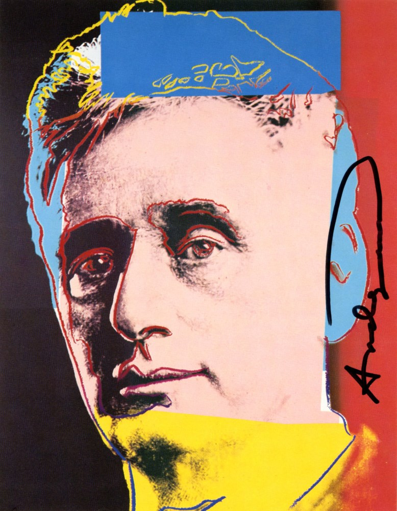 ANDY WARHOL - Louis Brandeis - Color offset lithograph