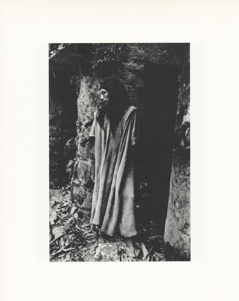 MANUEL ALVAREZ BRAVO - En el Templo del Tigre Rojo - Original photogravure