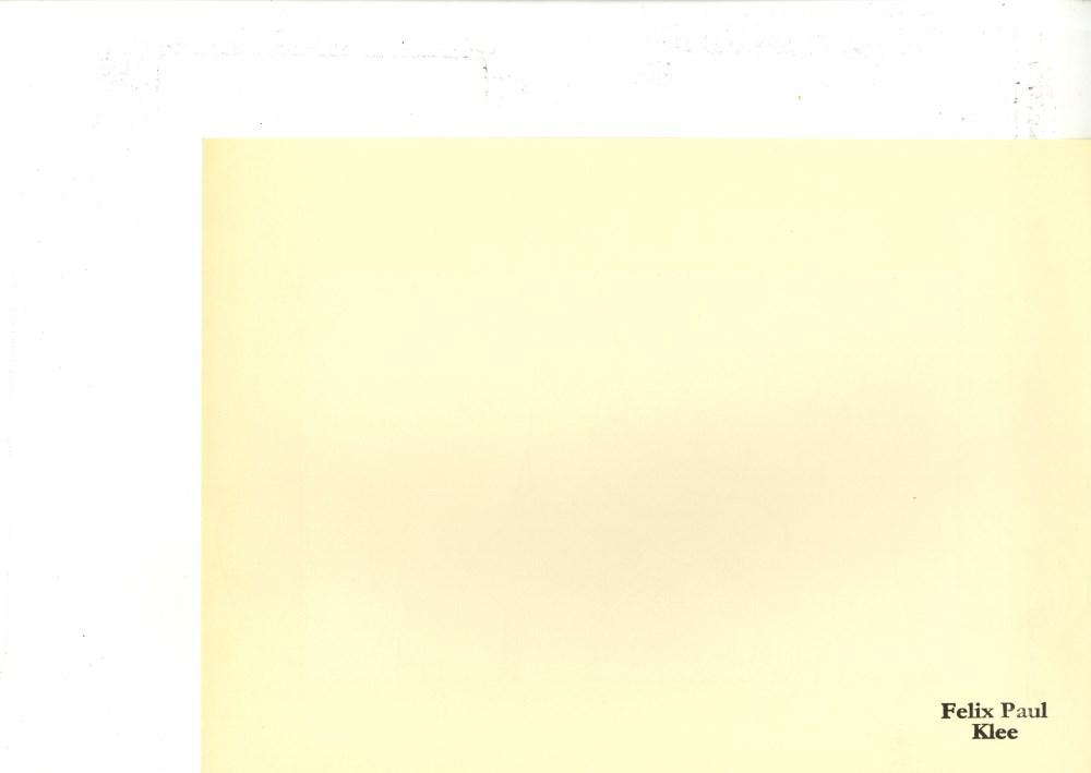 """PAUL KLEE - Overtones [""""Obertone""""] - Original lithograph - Image 2 of 2"""