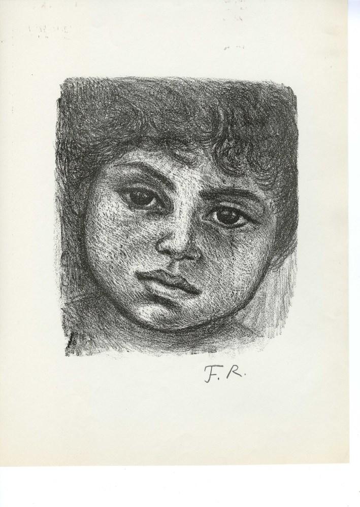 FANNY RABEL - Niña de Tierra Caliente - Original lithograph