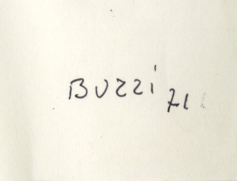 ALBERTO BURRI [imputee] - Combustione #2 - Mixed media on paper - Image 3 of 3