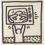 KEITH HARING - TV Drama - Lithograph