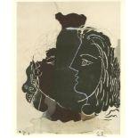 GEORGES BRAQUE - Tete Grecque - Original color collotype