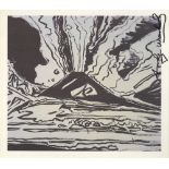 ANDY WARHOL - Vesuvius #05 - Offset lithograph