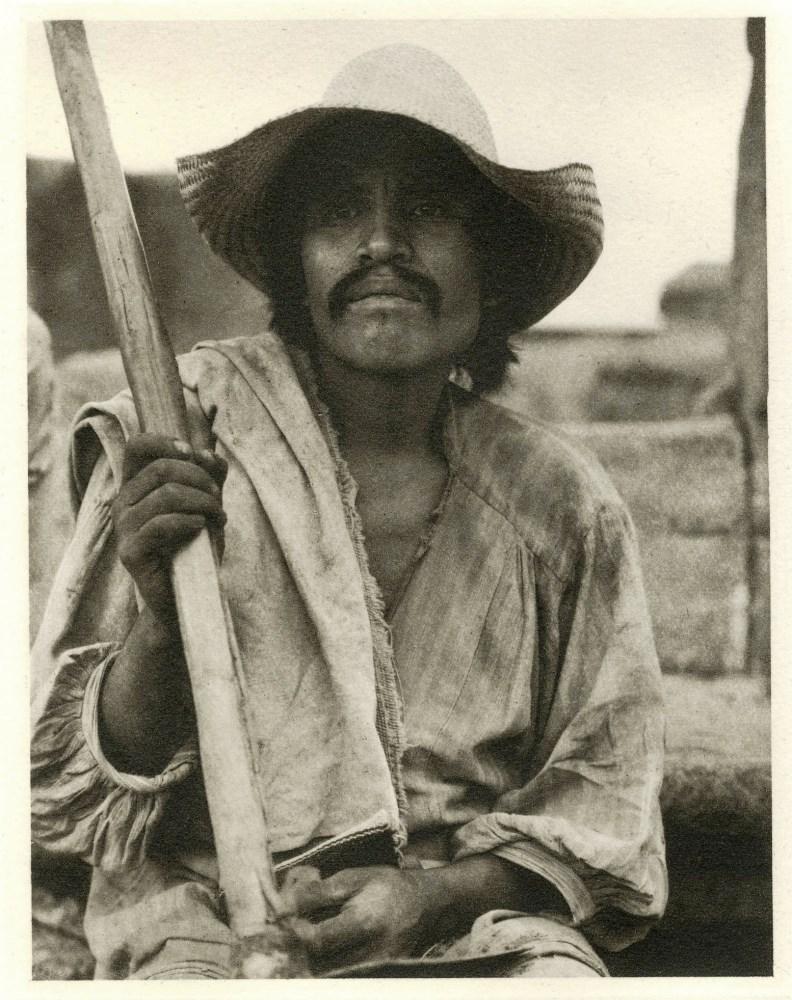 PAUL STRAND - Man with a Hoe, Los Remedios - Original photogravure