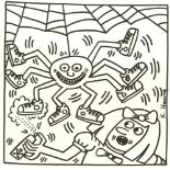 KEITH HARING - Eight Shoes - Lithograph