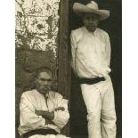 PAUL STRAND - Men of Santa Anna, Michoacan - Original photogravure