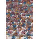 MARK TOBEY - Raindrop Prism #3 - Oil and tempera on paper