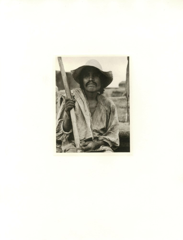 PAUL STRAND - Man with a Hoe, Los Remedios - Original photogravure - Image 2 of 2