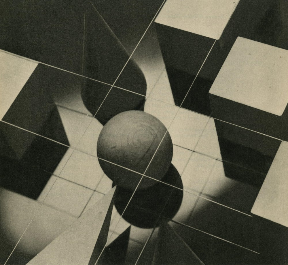 ARTHUR GERLACH - Evolving an Idea - Original vintage photogravure