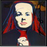 ANDY WARHOL - Ingrid Bergman: The Nun (02) - Color offset lithograph