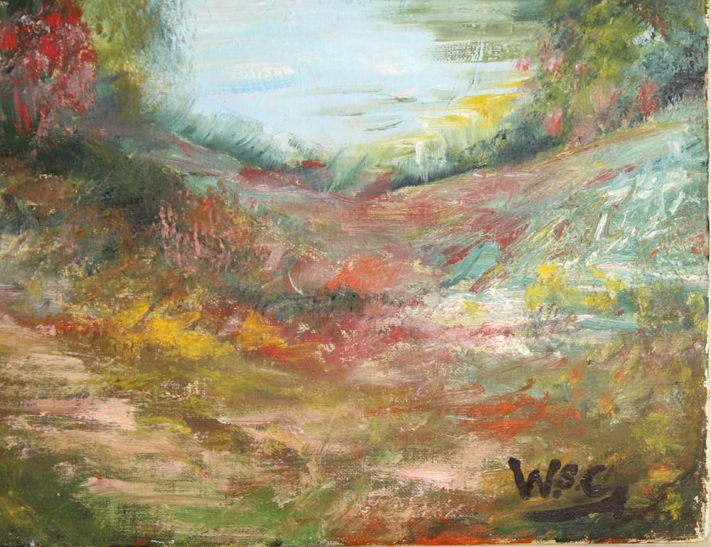 WINSTON S. CHURCHILL [imputee] - Four Peaks - Oil on canvas - Image 2 of 5