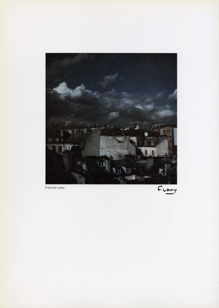 FRANCOIS LAMY - Rooftops - Vintage color photometalgraph