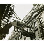 BERENICE ABBOTT - Frank Lava, Gunsmith - Original vintage photoengraving