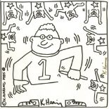 KEITH HARING - One Artist - Lithograph