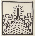 KEITH HARING - Pinnacle - Lithograph