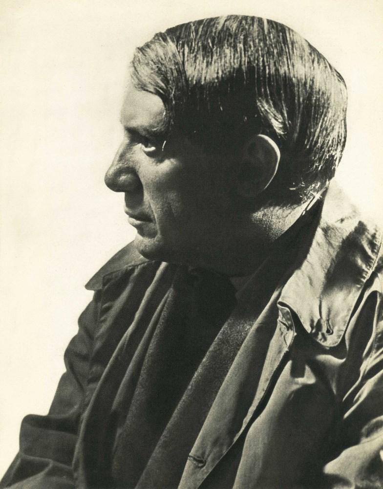 MAN RAY - Pablo Picasso - Original vintage photogravure
