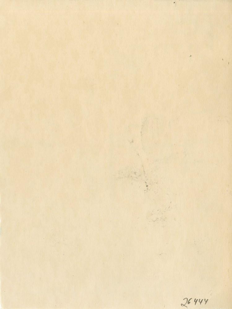 JEAN COCTEAU [d'apres] - La Mediterranee - Original color wax pencil drawing - Image 2 of 2