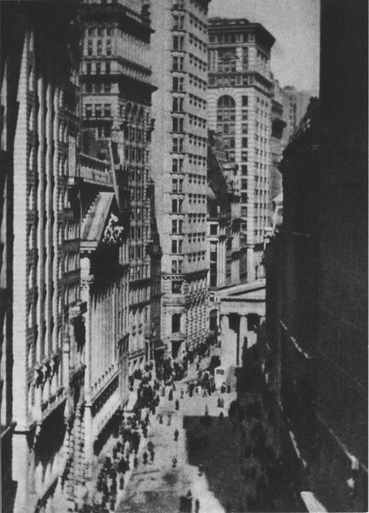 ALVIN LANGDON COBURN - The Stock Exchange - Original photogravure
