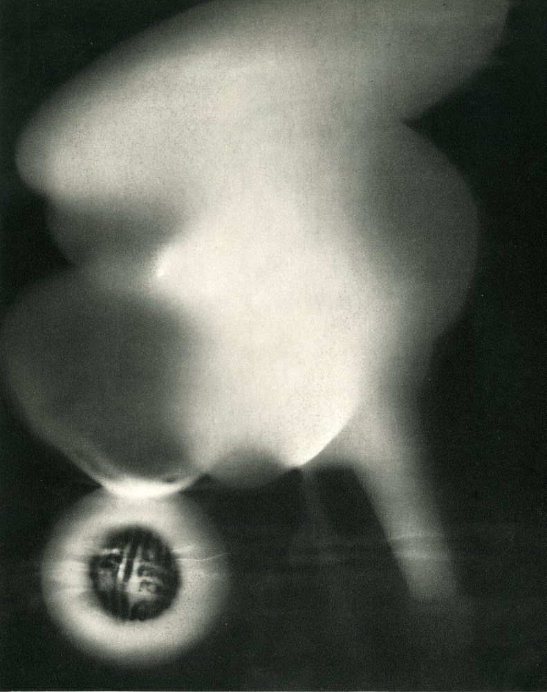 MAN RAY - Rayograph - 102 - Original vintage photogravure